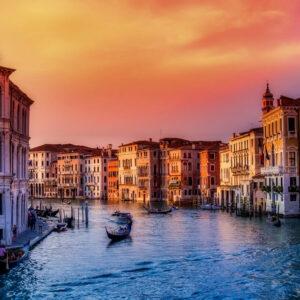 Winterliches Venedig